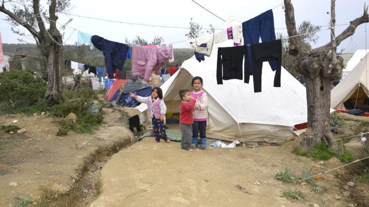 Vluchtelingenkampen Griekenland
