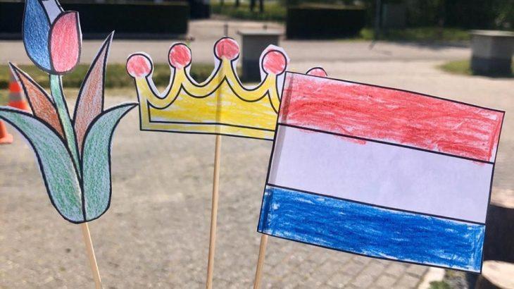 Hun eerste Koningsdag in Nederland